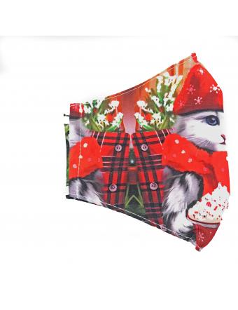 Masque Chat Noël