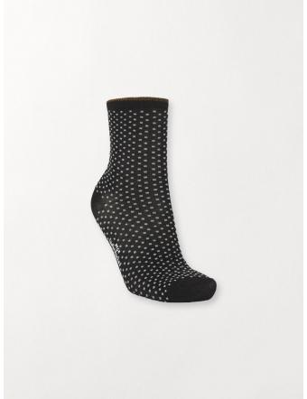 Chaussettes-Hautes-Femme-Fantaisie-Dina-Dots