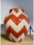 Vase Inca H31 Orange