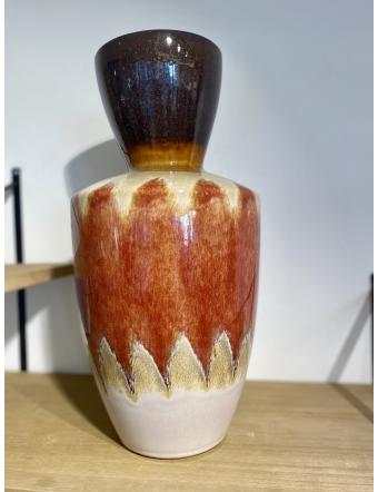 Vase Volcano Orange