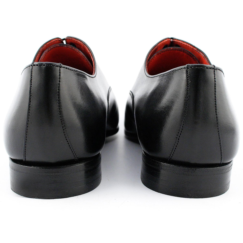 En Cuir Exclusif Coppola Noir Italienne Chaussure Lisse SUzGqVMp