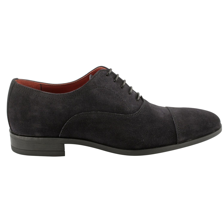 chaussure daim homme gregorio en nubuck de cuir marine exclusif. Black Bedroom Furniture Sets. Home Design Ideas