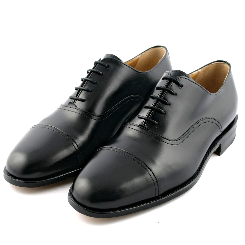 dc9d68bb74c8c Richelieu homme Milano en cuir de chevreau noir - Exclusif