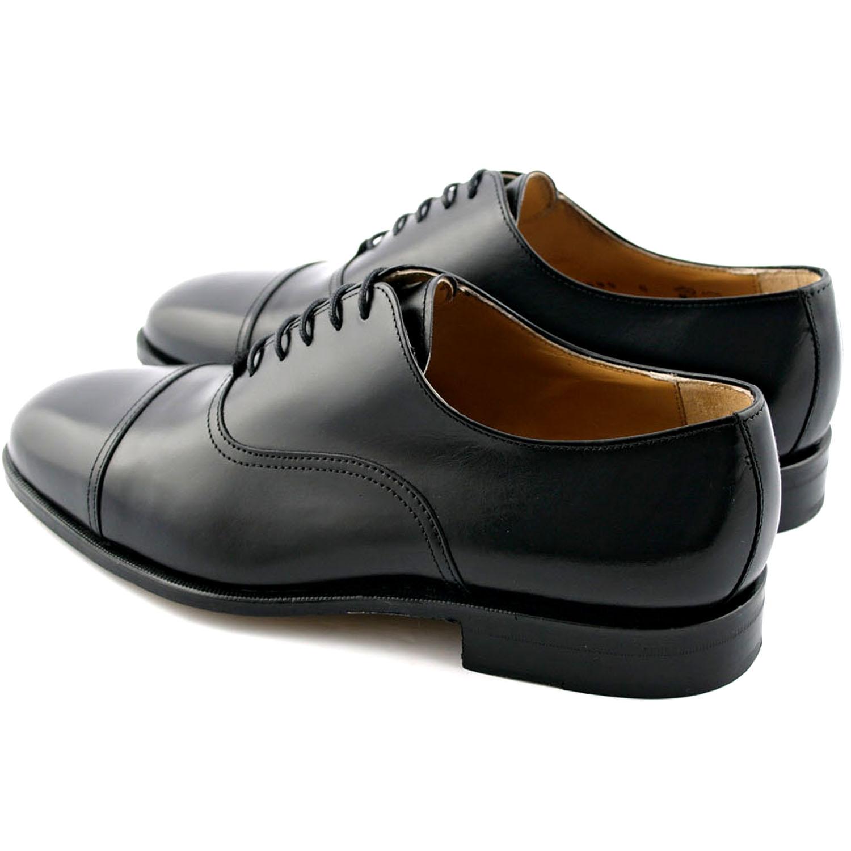 35fe6121d3c4 Richelieu homme Milano en cuir de chevreau noir - Exclusif