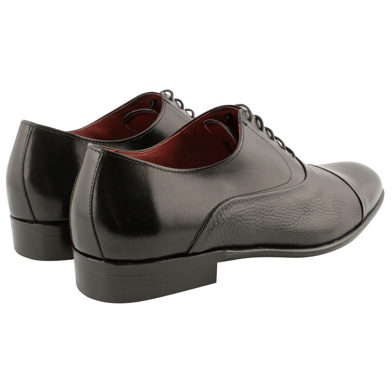 ea03e68e6599 Richelieu homme City en cuir de qualité noir - Exclusif
