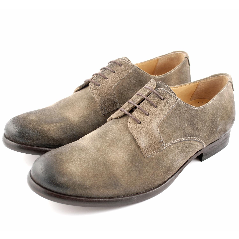 Exclusif Cuir Chaussures Casual Taupe Gras Bragga Un Dans tQrdxhsC