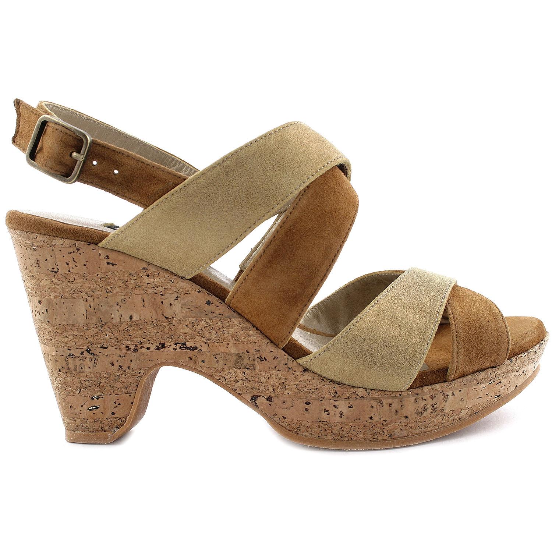 Exclusif Paris Sandales Icone Doré - Chaussures Sandale Femme