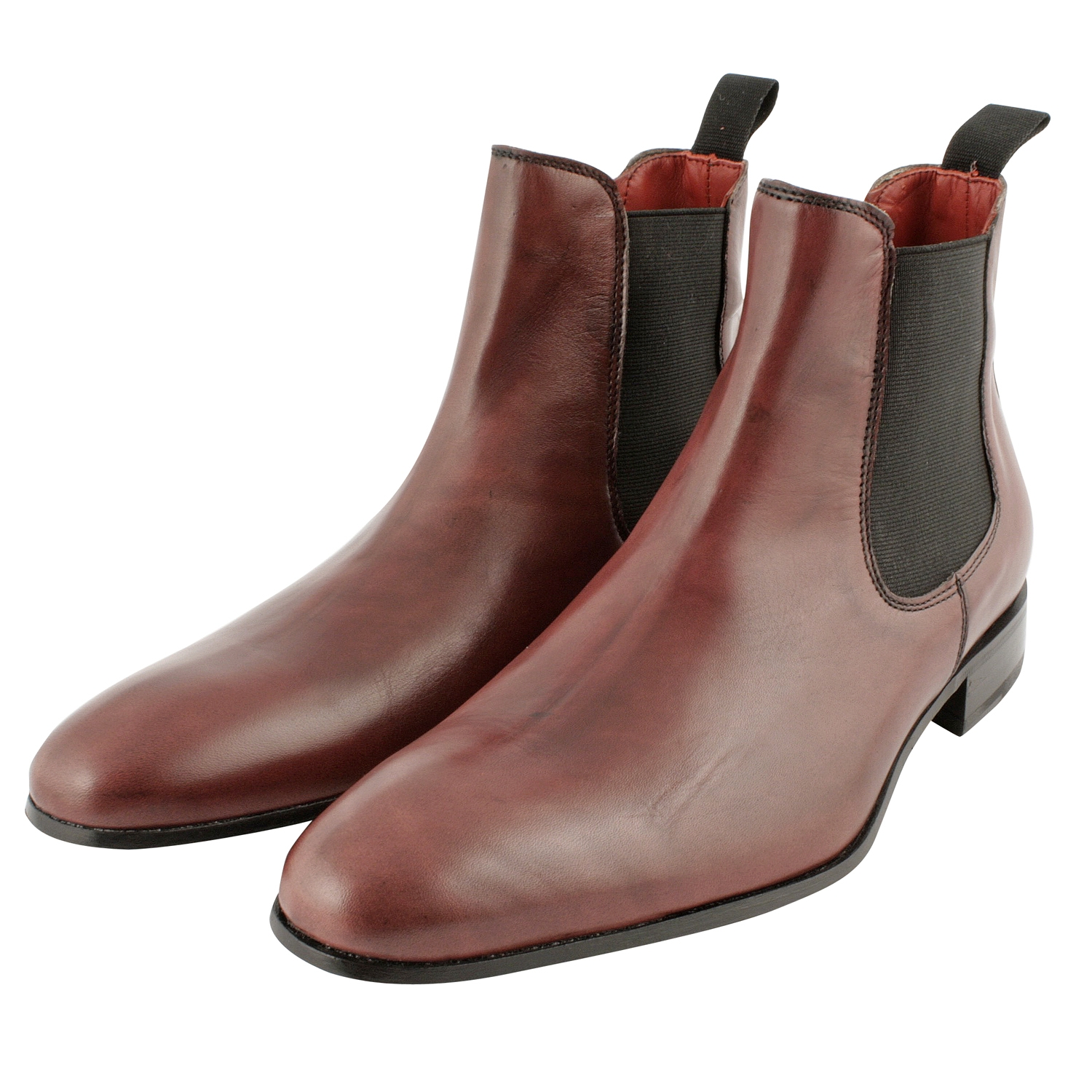 bottine gant homme bordeaux