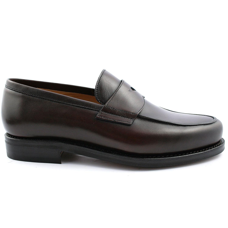 Qualité Luxe Exclusif Paris Lord En Homme De Cuir Chaussure Marron 4qUO0nnR