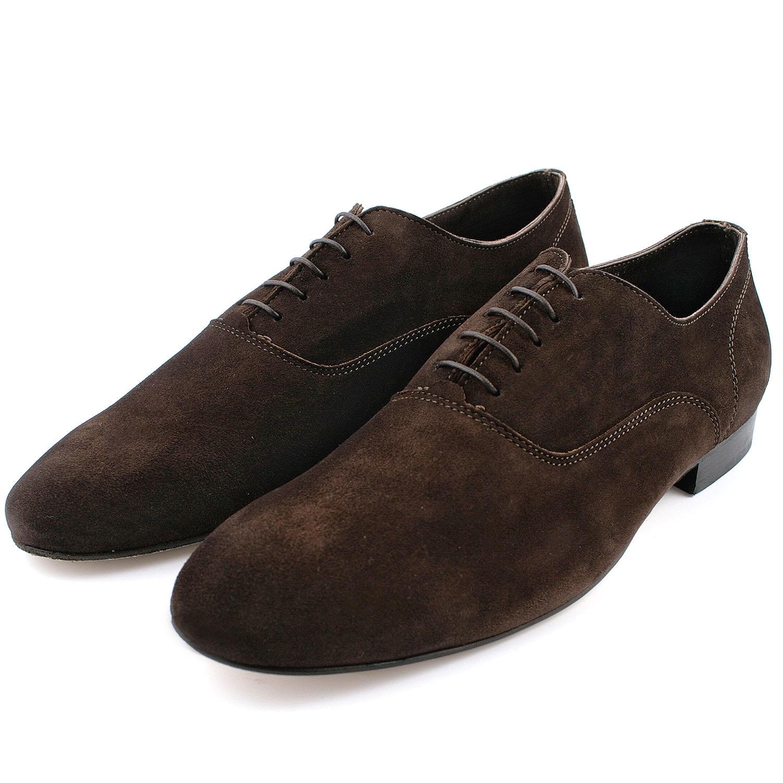 bon out x prix favorable code promo Chaussure daim homme Gainsbar en nubuck de cuir marron ...