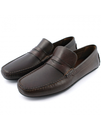 chaussure-de-ville-homme-voile-cuir-marron-1