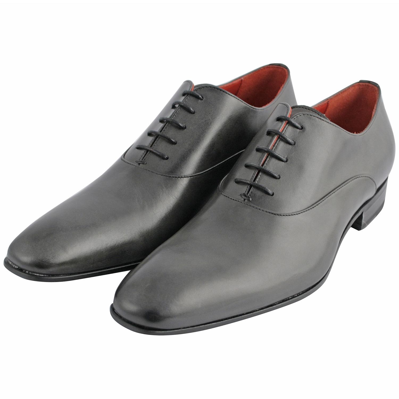 chaussure ville homme miro en cuir lisse gris exclusif. Black Bedroom Furniture Sets. Home Design Ideas