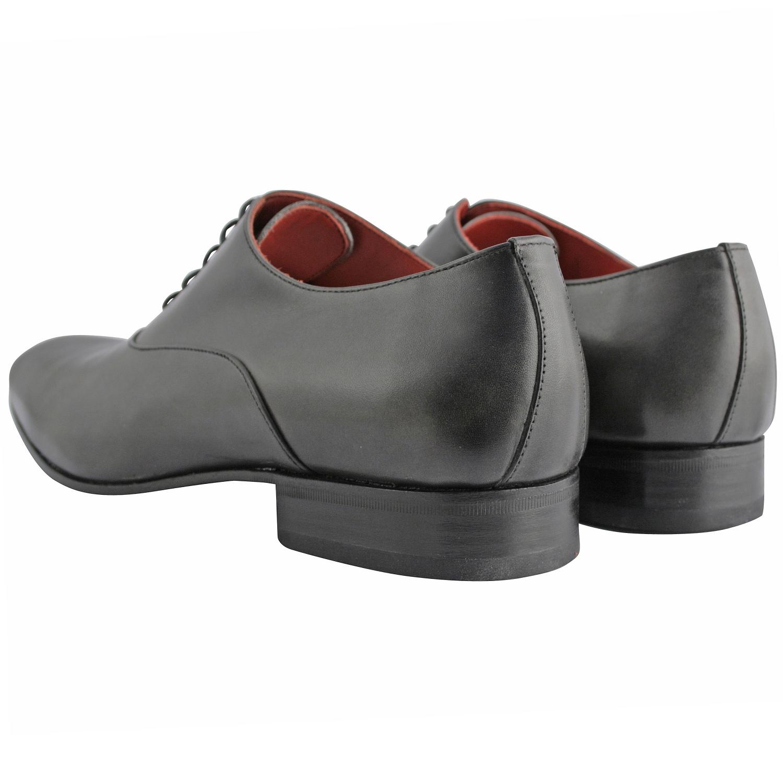 25445e3a4d08 Chaussure ville homme Miro en cuir lisse gris - Exclusif