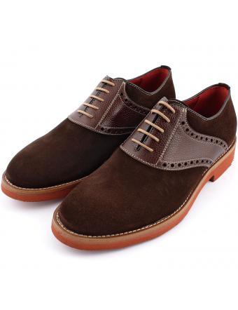 chaussure-de-ville-homme-folk-nubuck-marron-1