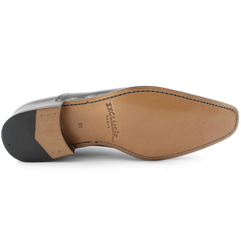 b9171dad60d6 Chaussure homme Cocktail en cuir lisse noir - Exclusif