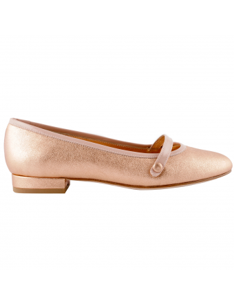 chaussures-plates-cuir-rose-baya-1