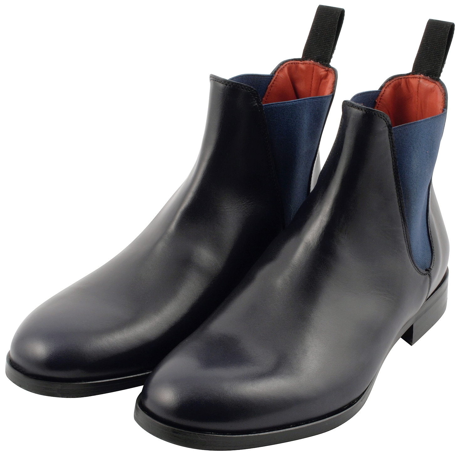 Exclusif Paris Mystere - Bottines en cuir - bleu marine