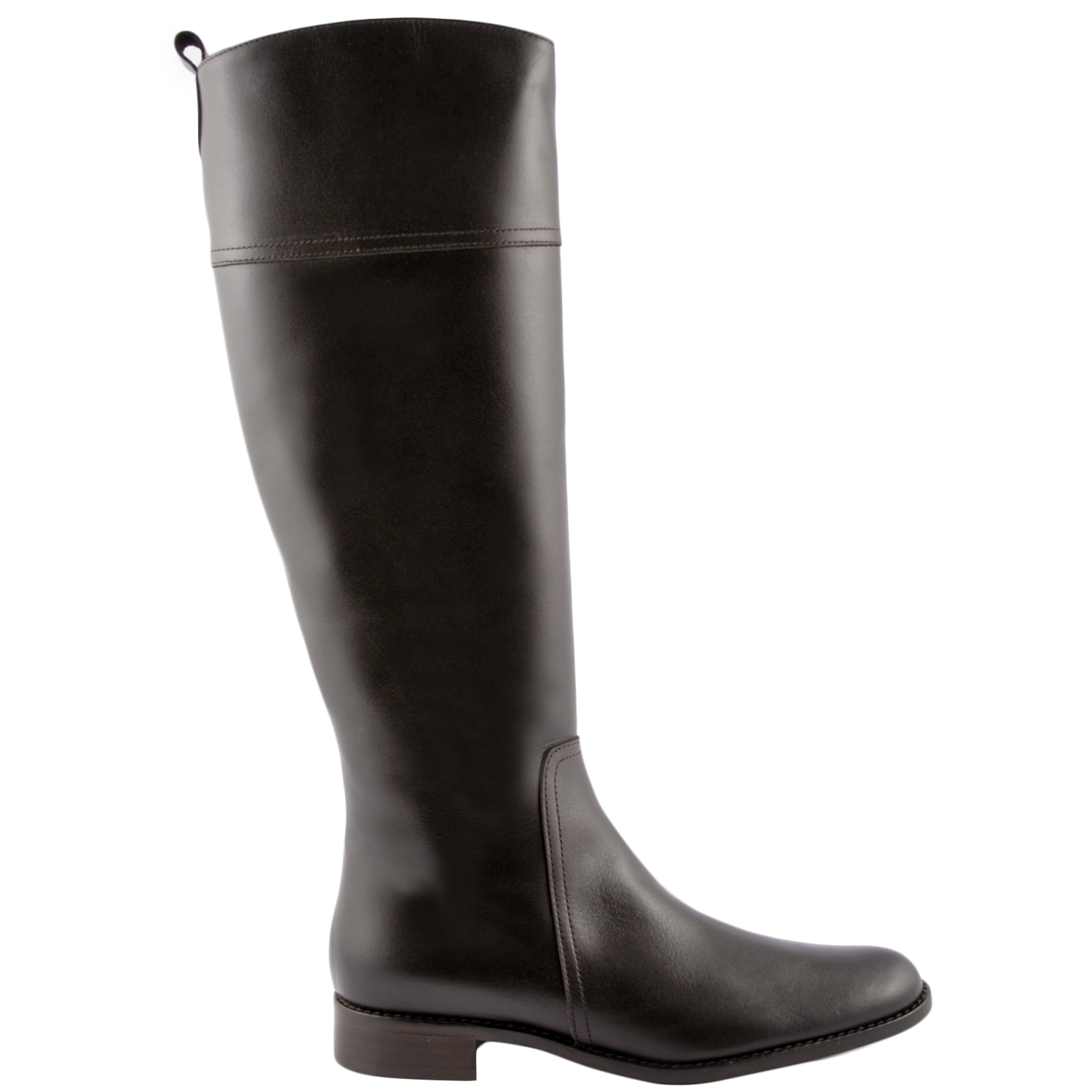 bottes,femme,chelsea,cuir,marron,1. Loading zoom