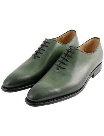 chaussure-de-ville-cuir-vert-eric-1