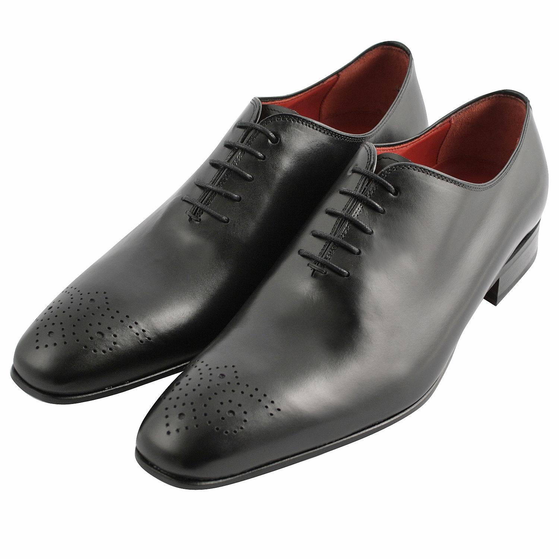 5c1e422fb45c7 Richelieu chaussure homme Travis en cuir lisse noir - Exclusif