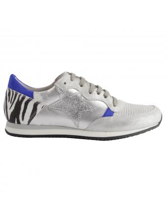 chaussures-plates-femme-cuir-argent-run-1
