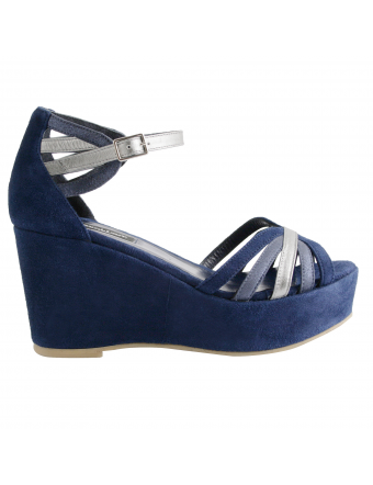 chaussures-compensees-femme-nubuck-marine-graziella-1