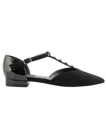 Chaussures-plates-nubuck-noir-gaia-1