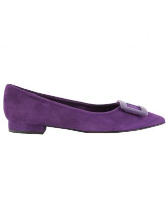 chaussures-plates-nubuck-violet-luana-1