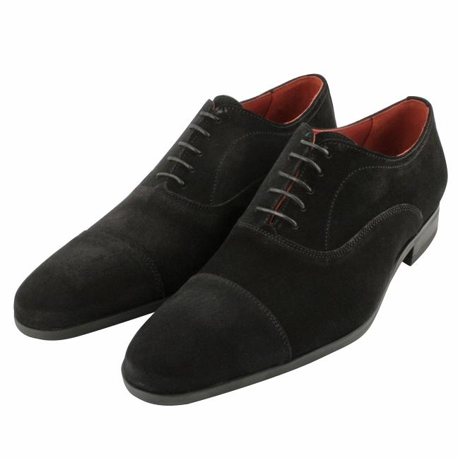 Chaussure-daim-homme-nubuck-noir-gregorio-1