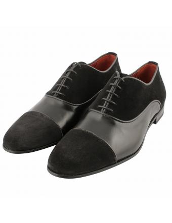 Chaussure-richelieu-homme-nubuck-cuir-noir-pacino-1