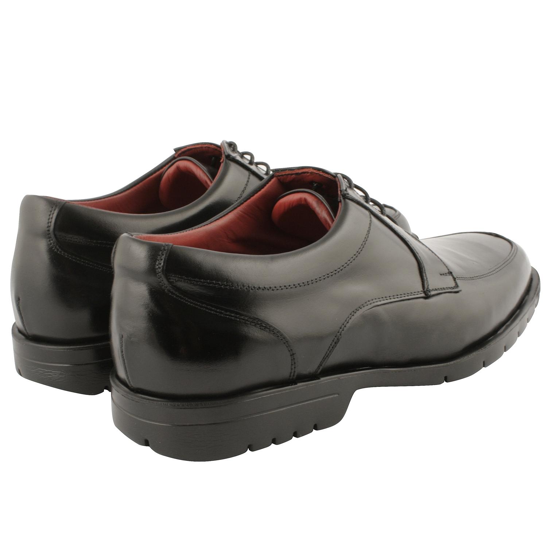 chaussure derby homme regis au cuir noir exclusif. Black Bedroom Furniture Sets. Home Design Ideas