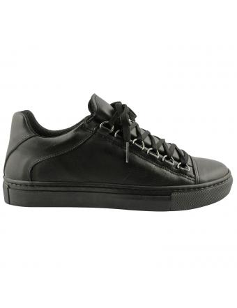 Basket-cuir-femme-baggy-cuir-noir-1