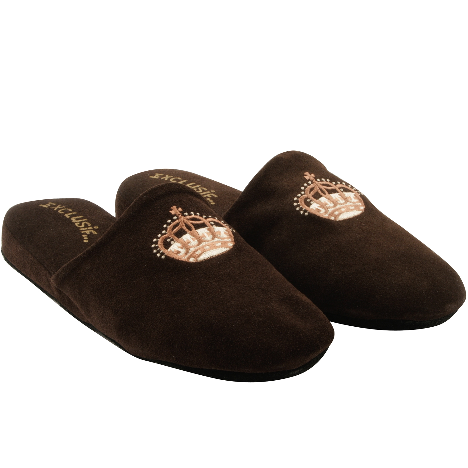 Exclusif Paris Windsor - Chaussons en cuir - marron