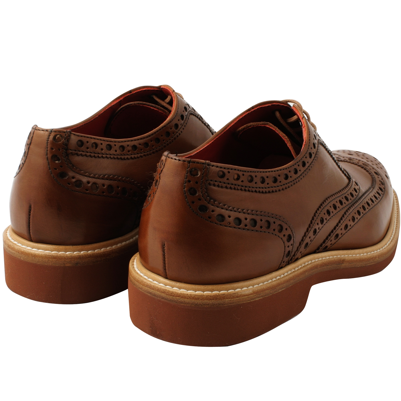 chaussures hommes oliver en cuir de qualit marron exclusif. Black Bedroom Furniture Sets. Home Design Ideas