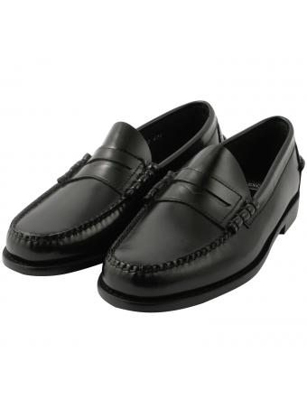 Chaussures-hommes-luxe-mocassin-cuir-noir-harvard-1