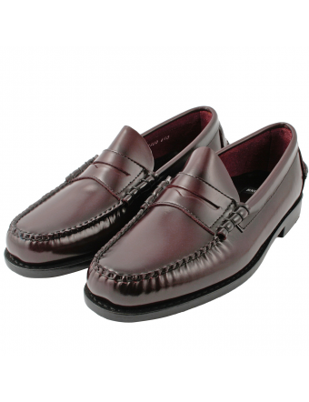 Chaussures-hommes-luxe-mocassin-cuir-bordeaux-harvard-1