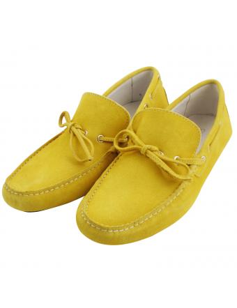 mocassin-daim-homme-jaune-benito-1