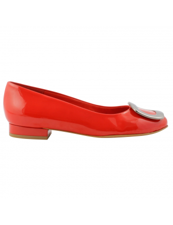 Chaussure-cuir-vernis-rouge-cardinal-1