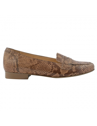 Mocassin-femme-cuir-python-taupe-gina-1