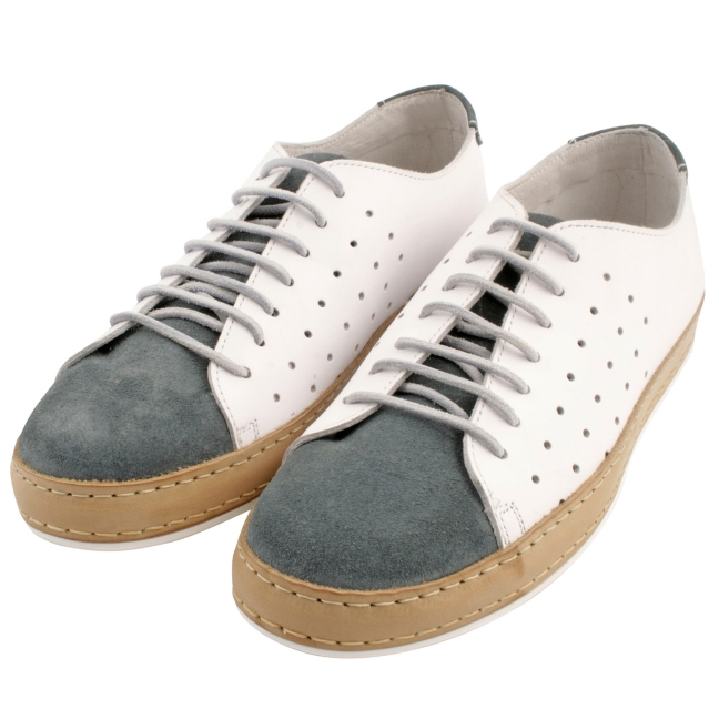 Tennis-homme-cuir-bleu-blanc-luigi-1