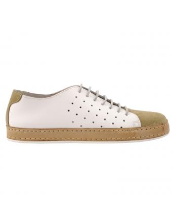 Tennis-homme-cuir-beige-blanc-luigi-5