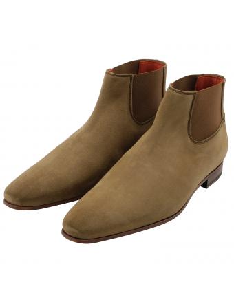Chealsea-boots-cuir-nubuck-gold-cash-1