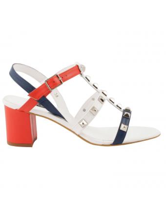 Sandales-femmes-cuir-bleu-blanc-rouge-berenice-1