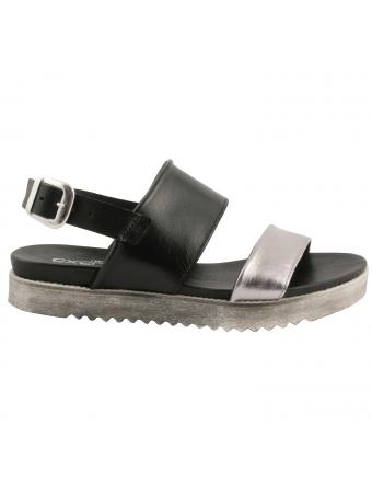 Sandales-femme-cuir-noir-bronze-athena-1