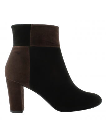 Bottines-talons-nubuck-noir-marron-bambi-1