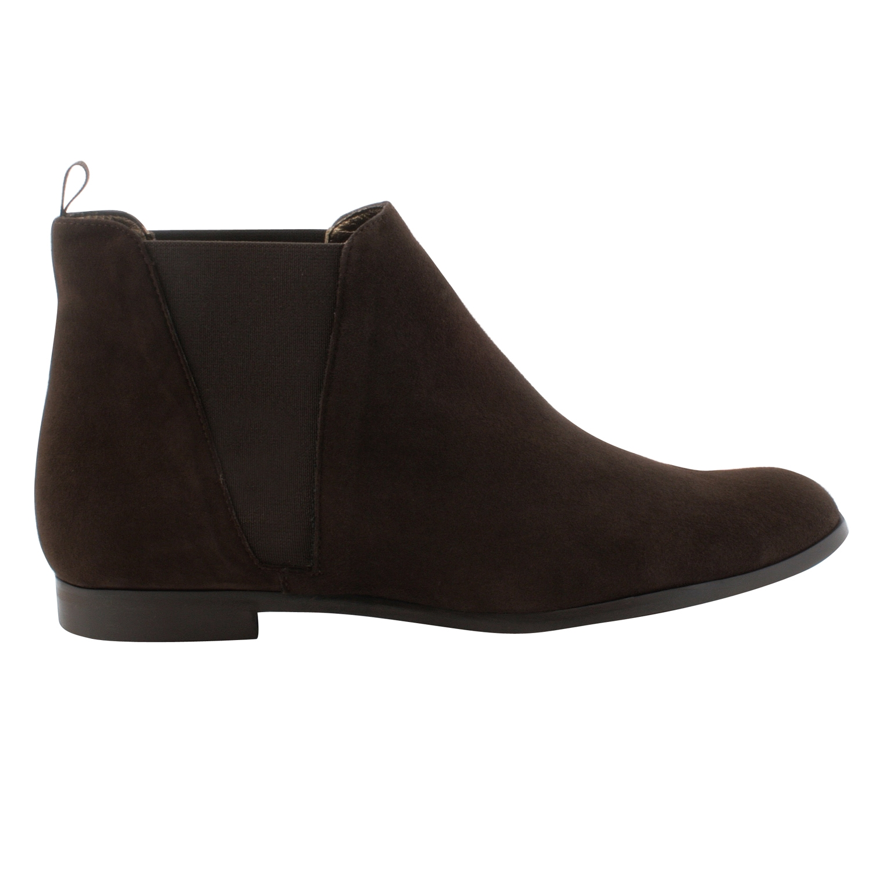 Boots femme cuir Boyish en nubuck marron - Exclusif 8ec278d1921b