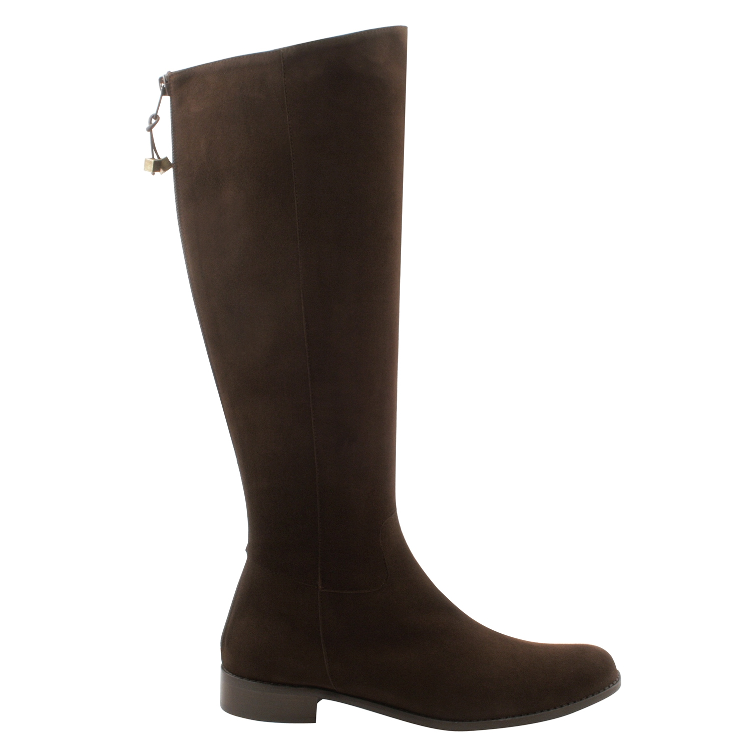 Exclusif Paris Kim - Bottes en cuir - marron