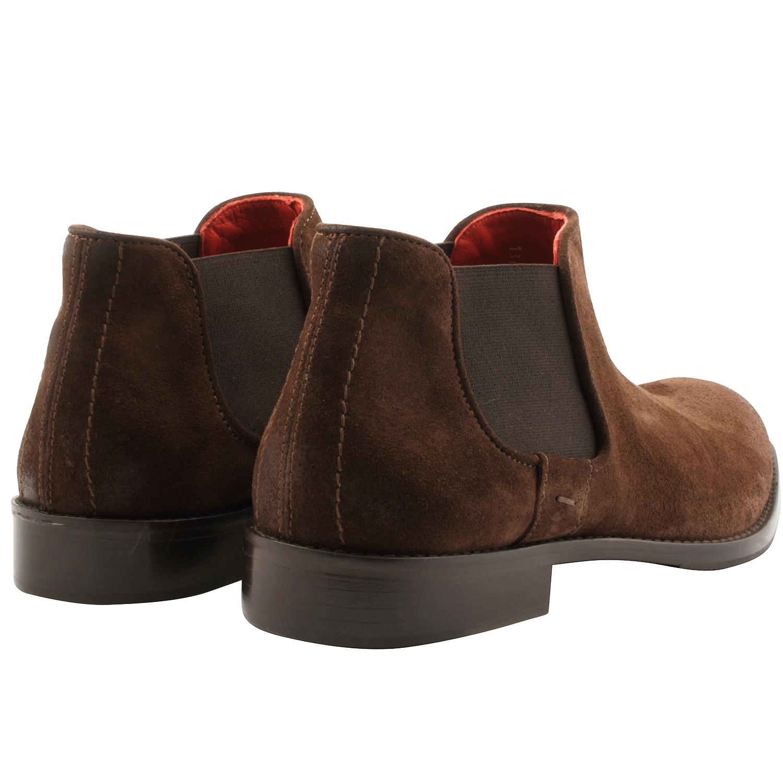 Boots,homme,daim,marron,bazil,3