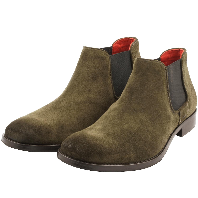 Boots-homme-daim-vert-bazil-1