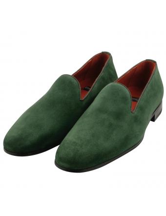 Mocassin-homme-nubuck-vert-Zadig-1